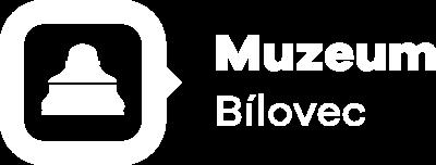 Logo Muzeum Bílovec bílé