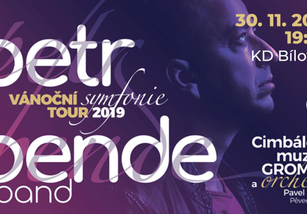 Vánoční turné 2019: PETR BENDE & BAND a vzácní hosté