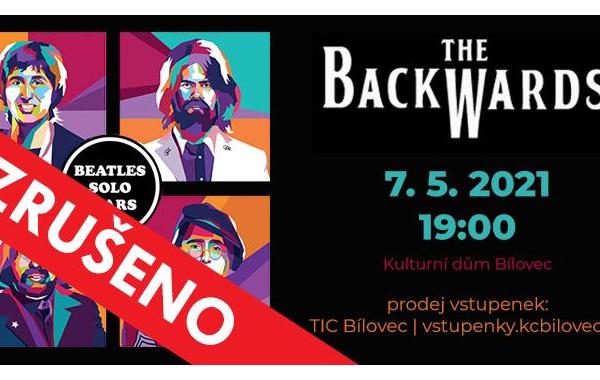 ZRUŠENO - THE BACKWARDS – World Beatles Show (Beatles Solo Years)