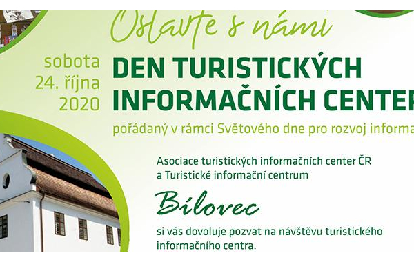Den Turistických informačních center v TIC BÍLOVEC - ZRUŠENO