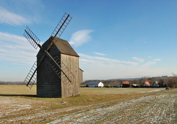 Wind mill — Bravinné–Dolní Nový Dvůr